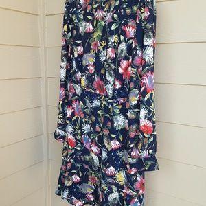 J. Crew Floral Print Transitional Dress 12